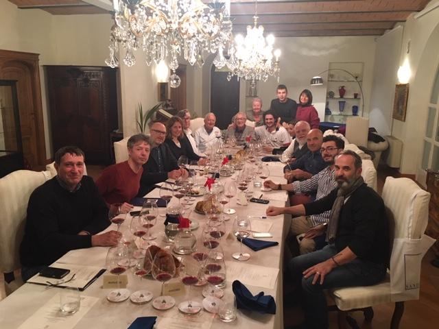Die Runde im Weingut Sandrone