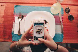 Lecker Essen mit tollem Bild vom Essen