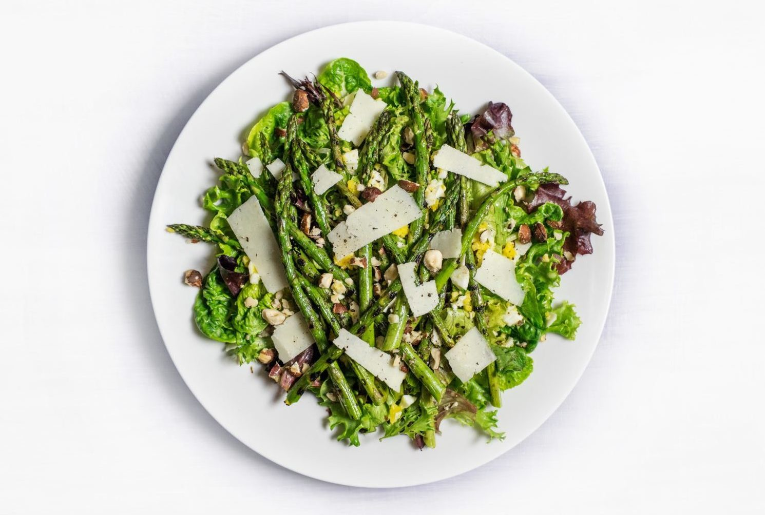 Gruener Spargel Salat