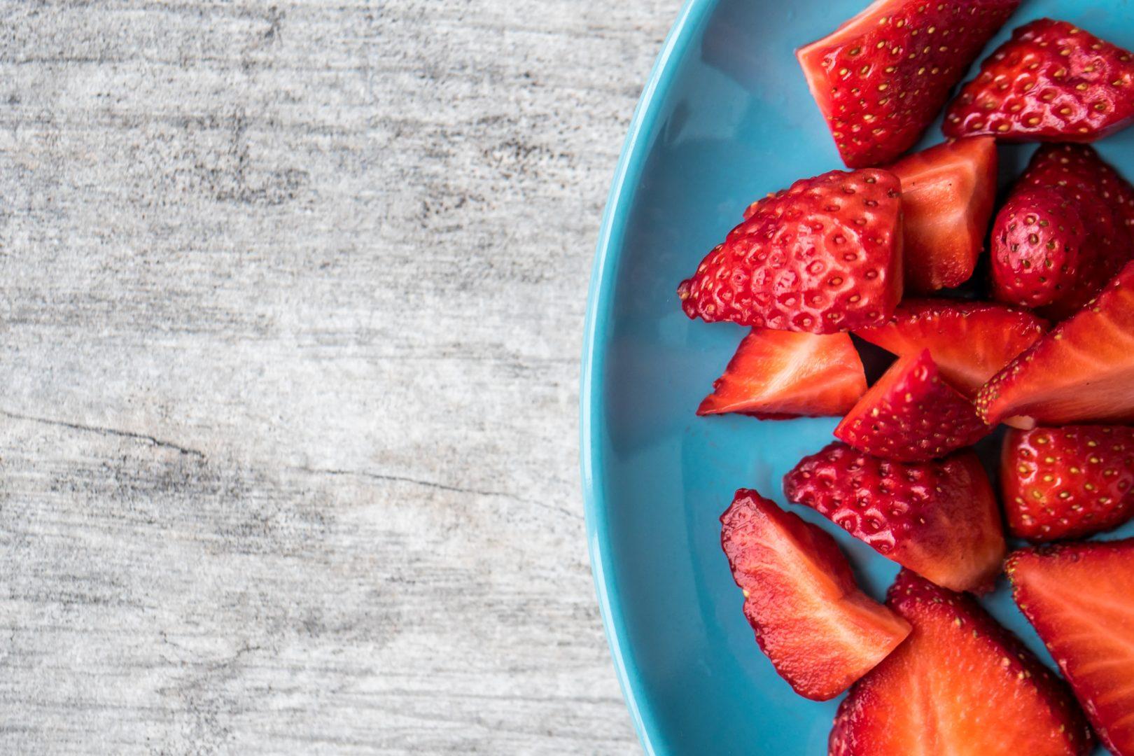 Spargel Dressing Erdbeere