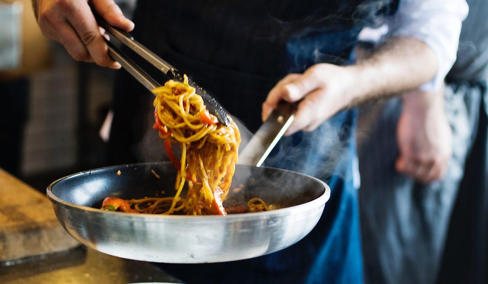 Spargel Spaghetti