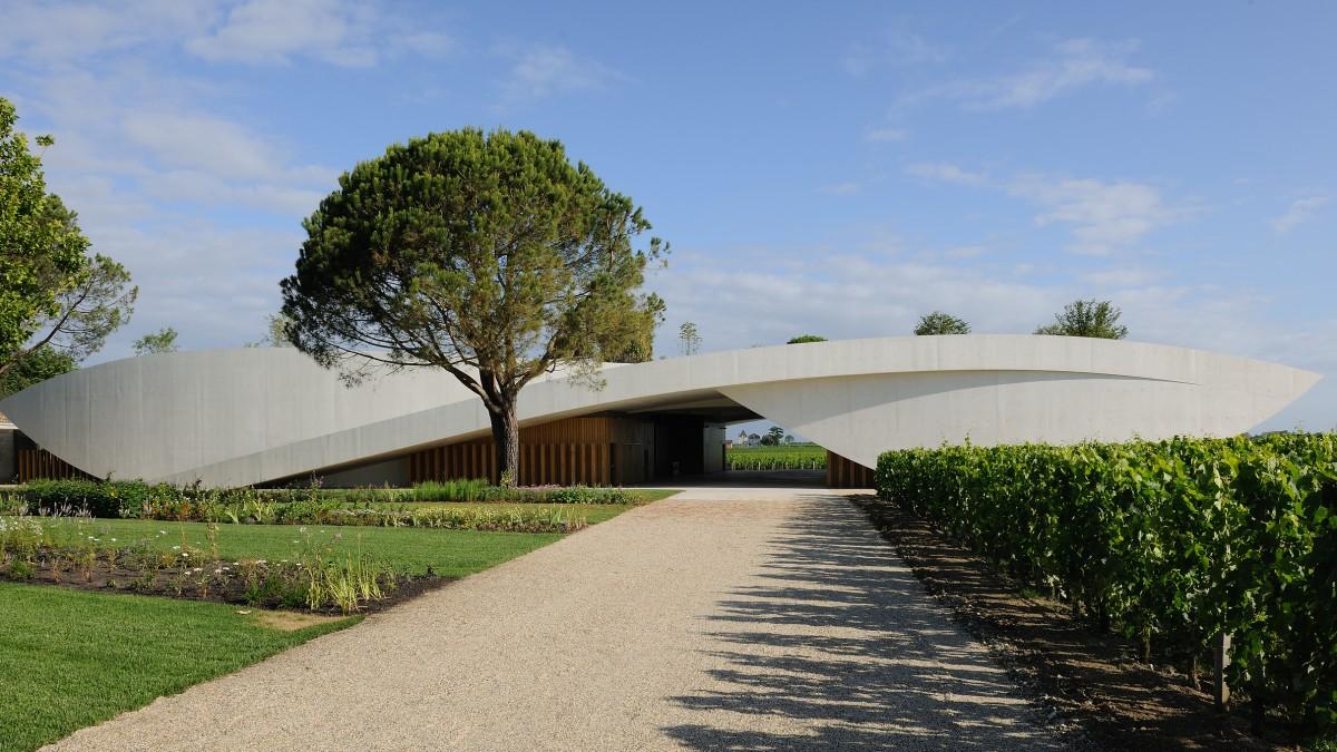 Der neue Keller von Château Cheval Blanc © Eric_Saillet