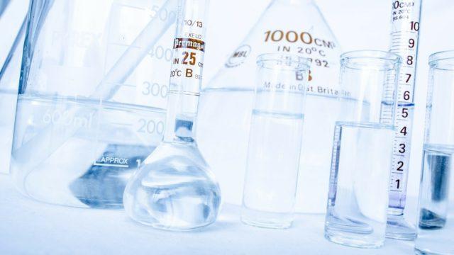 Reagenzglas Wissenschaft Chemie