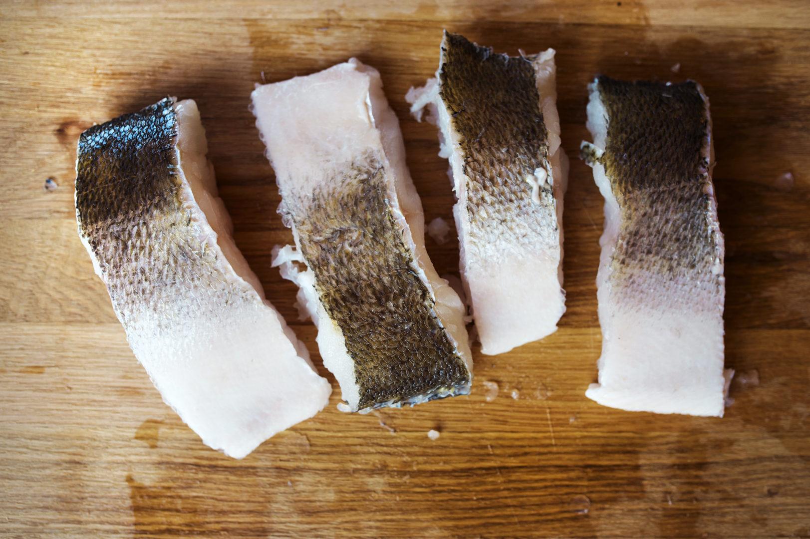 Grillen Fisch marinieren