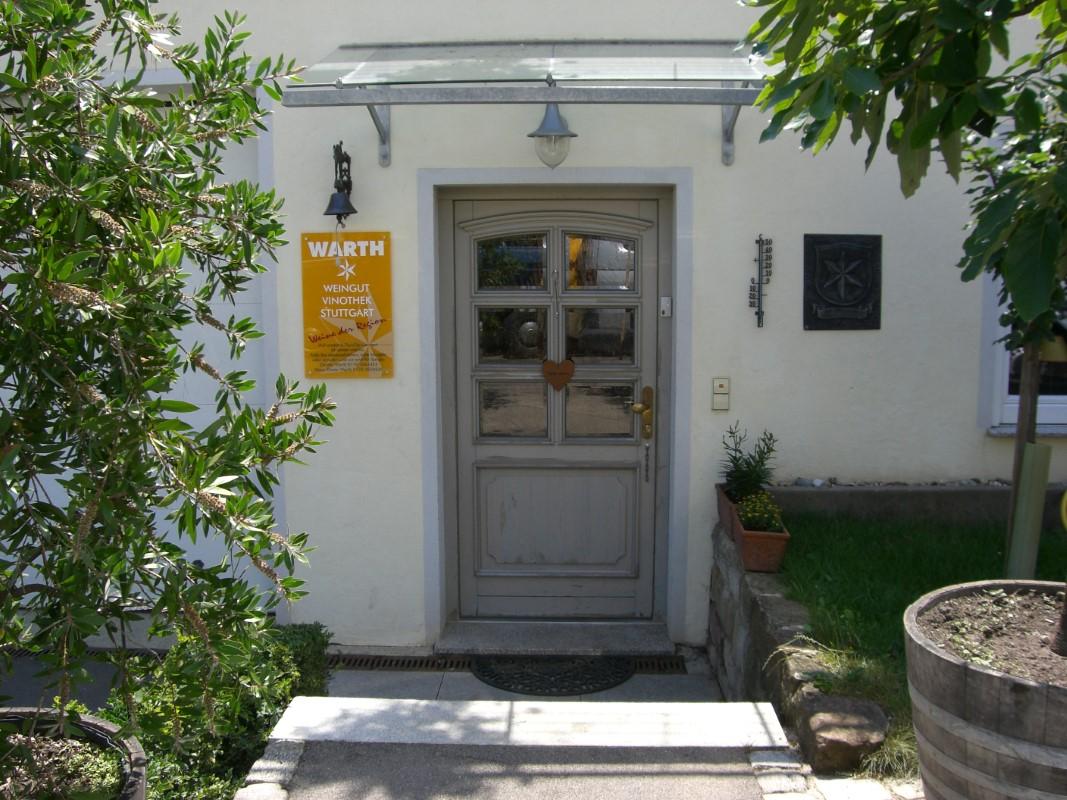 Eingang zur Weingutsstube
