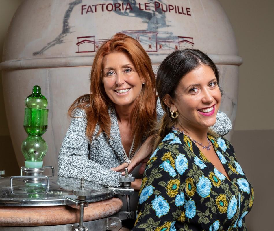 Elisabetta Geppetti und Tochter Clara Gentili
