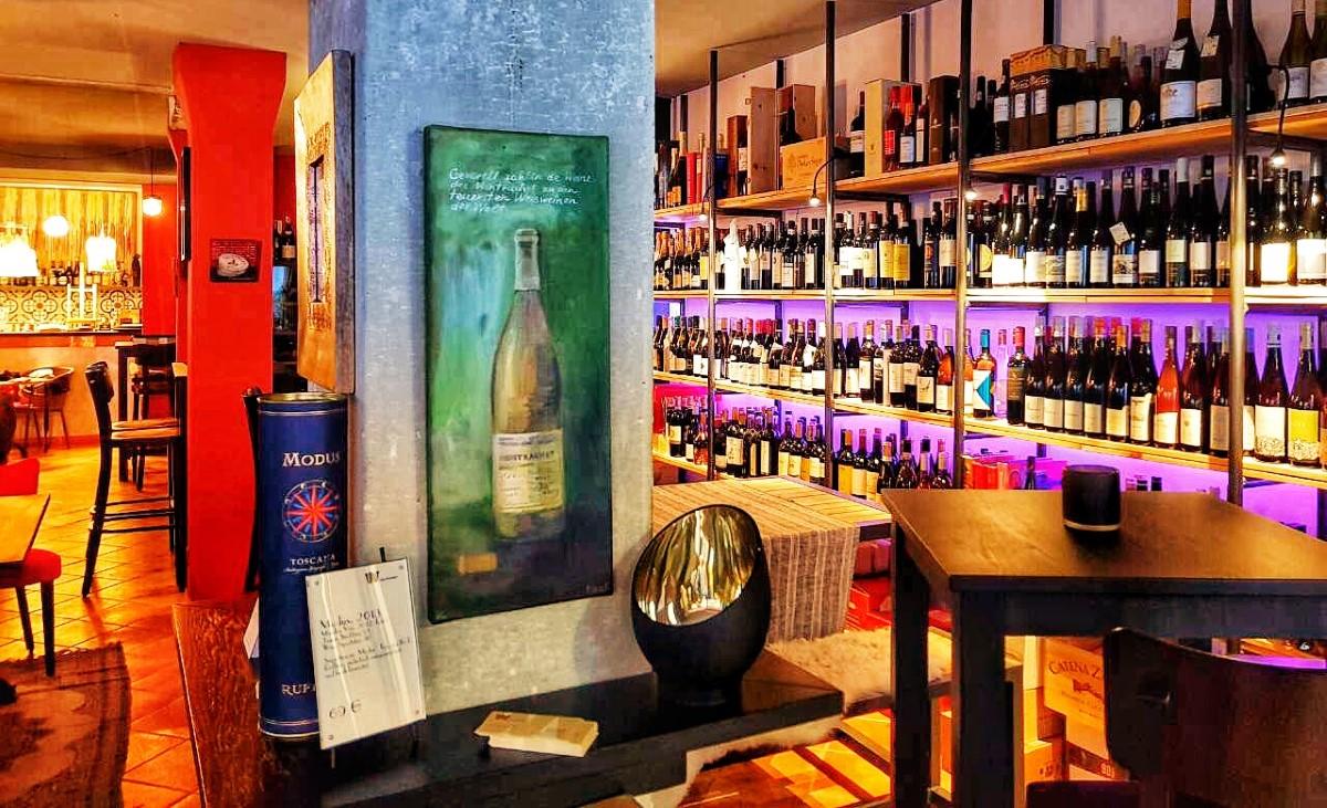 Weinbar Hamburg W die Weinbar Innenansicht (Custom)