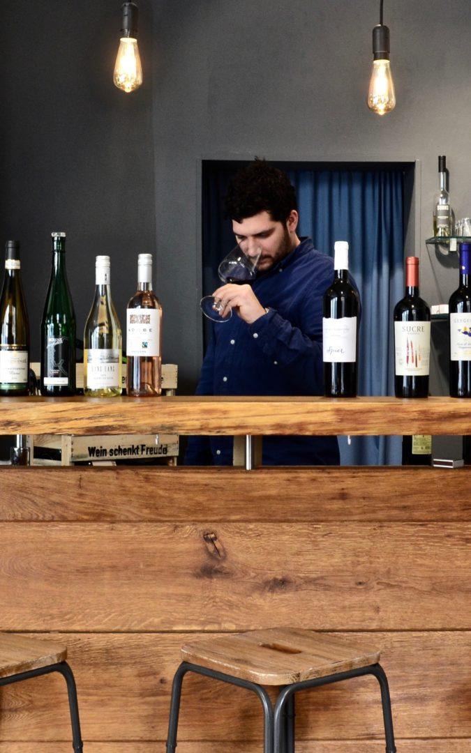 Weinbar Frankfaurt Raum&Wein Bar