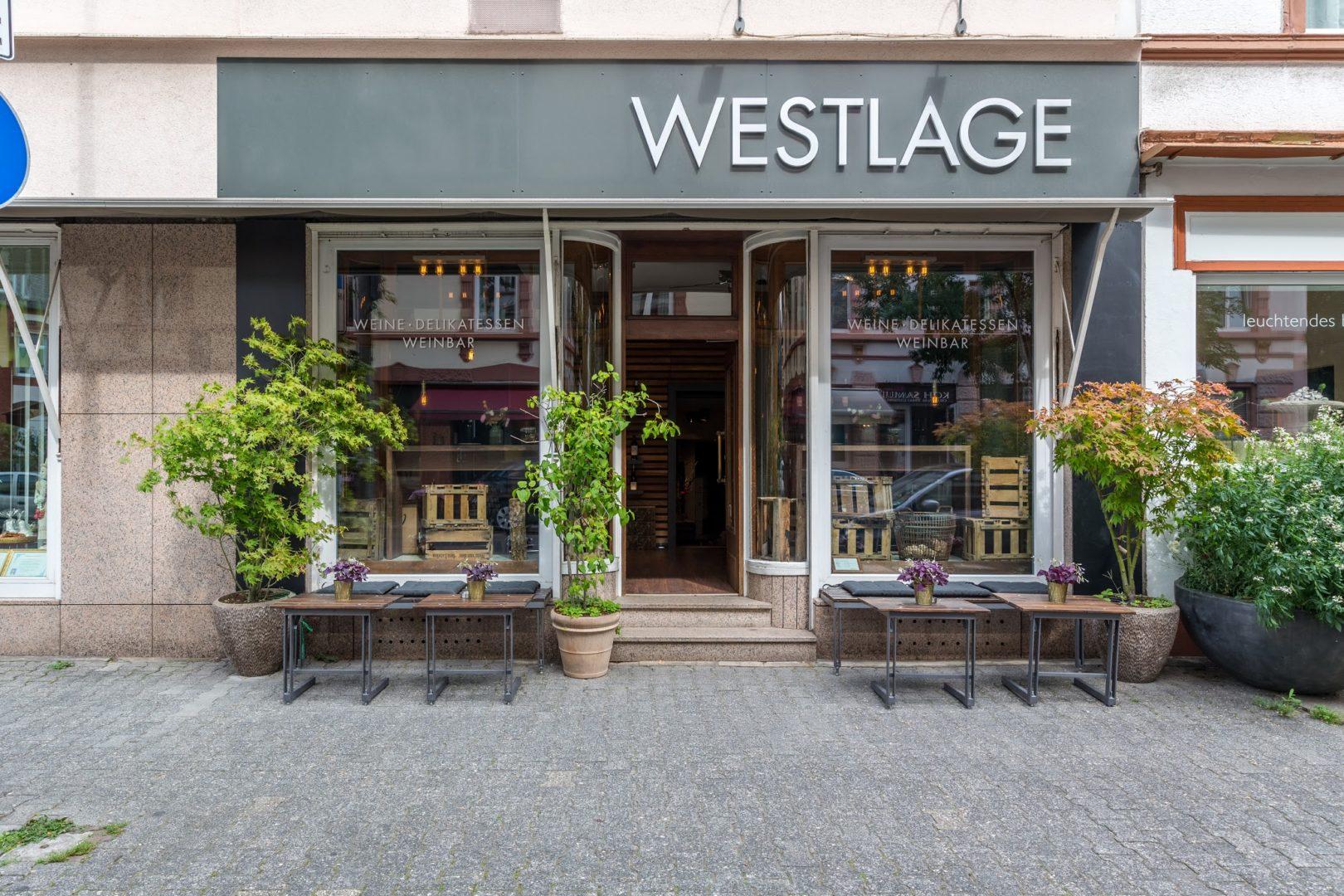 Weinbar Frankfurt Westlage Laden