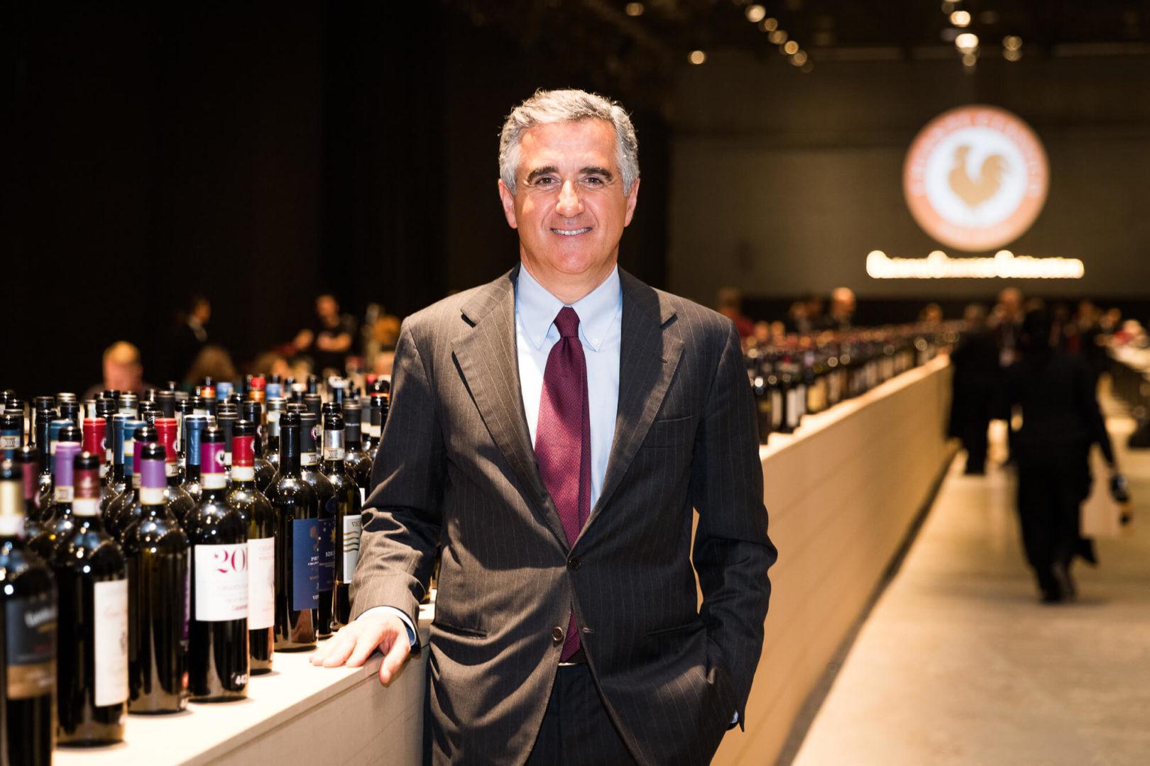 Giovanni Manetti, Präsident des Consorzi Gallo Nero © Gallo Nero