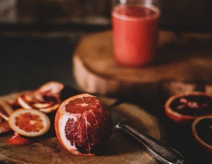 Rezept für Blutorangen Gin Tonic