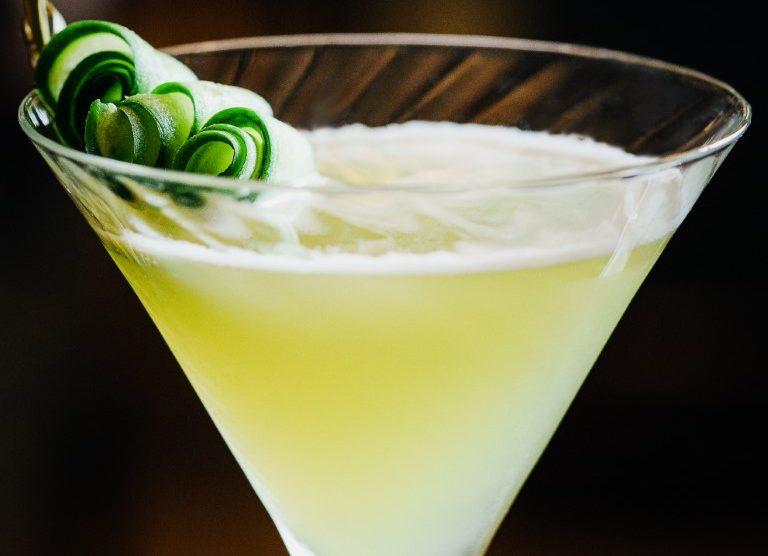 Cucumber Lemon Gin Chiller Rezept